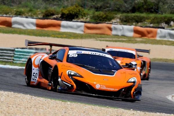 Benhan Tapy Lamborguini Estoril GT Open