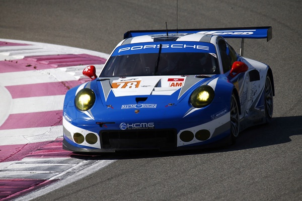 Porsche 911 RSR KCMG