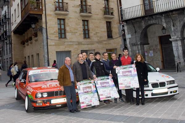 cartel presentacion rallysprint azpeitia
