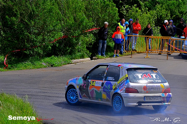Pablo Alvarez -Peugeot 106 S16- Primero en la Copa Quintana