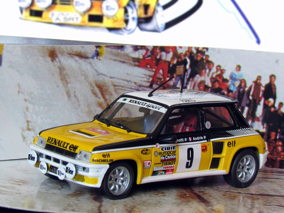 "Renault 5 Turbo, ""culogordo"""