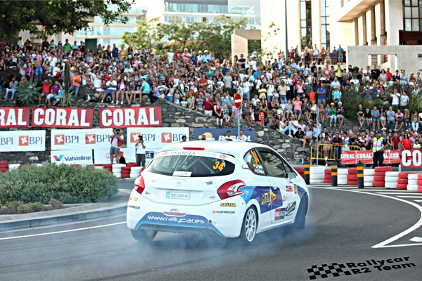 Javier Pardo rallye2 peugeot 208