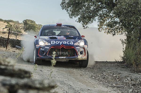 Rallye Norte de Extremadura Alex VIllanueva DS3