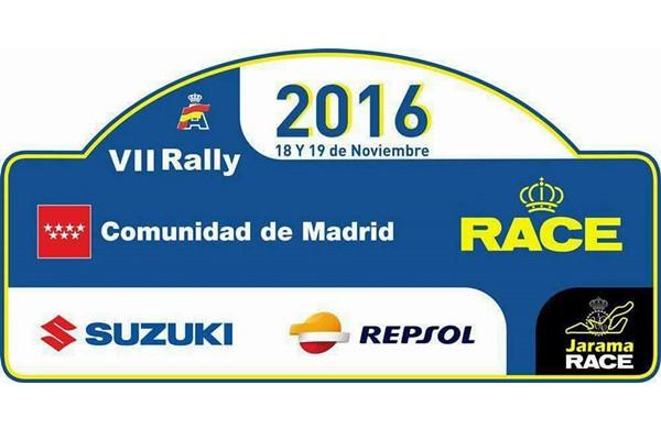 placa rallye comunidad de madrid 2016