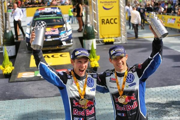 podio rallye españa wrc polo vw