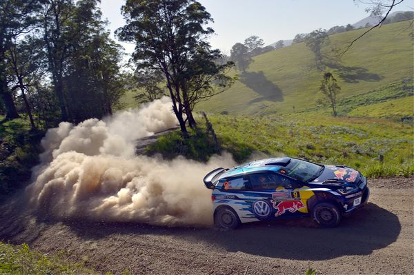 Andreas Mikkelsen Rally Australia 2016
