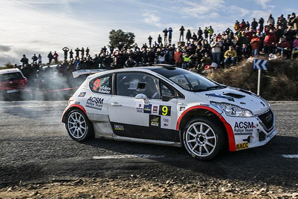Nil Solans Peugeot 208 R5 rallye Madrid