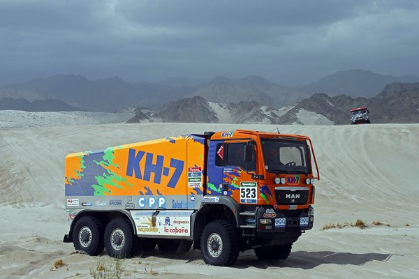 juvanteny dakar Camion KH7