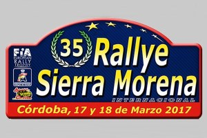 placa rallye sierra morena 17