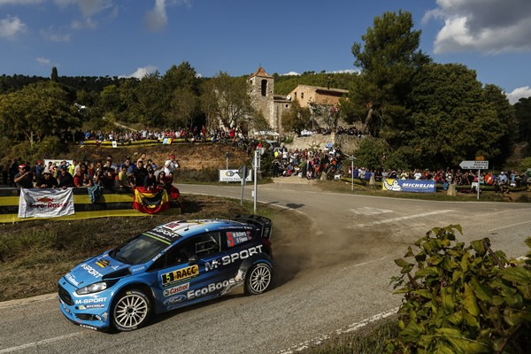 Rallye España Cataluña Ford M-Sport