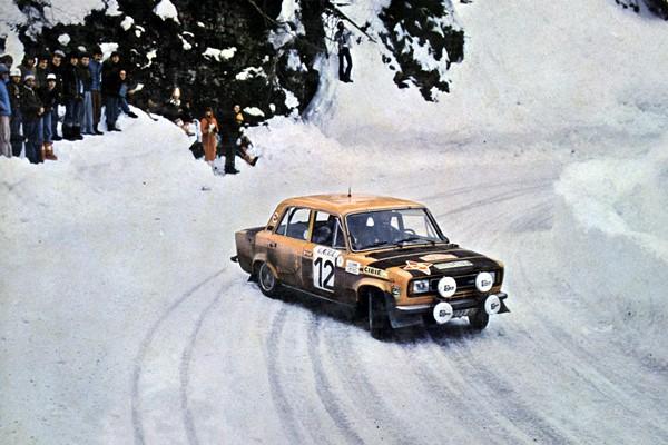 Rallye Monte-Carlo 1977 Zanini Petisco Seat 124 Especial 1800
