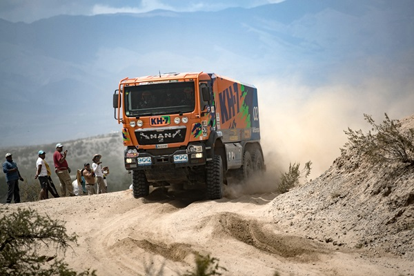 juvanteny criado gonzalez camion man dakar