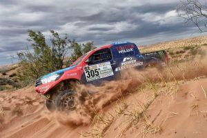 Nani Roma y Toyota, cuartos en su primer Dakar juntos