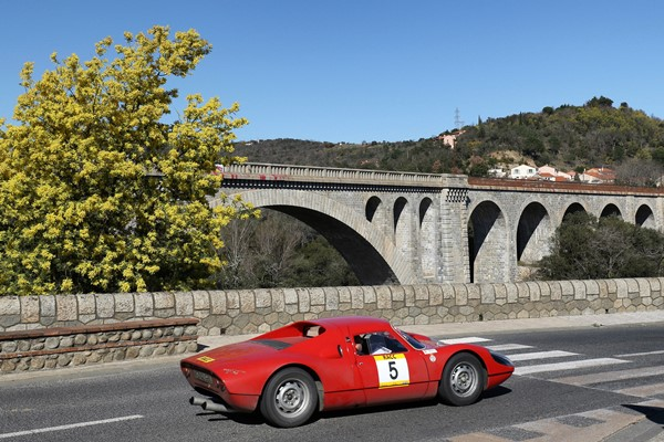 Beltrán Sanchís Porsce 904 GTS rallye cataluña historico
