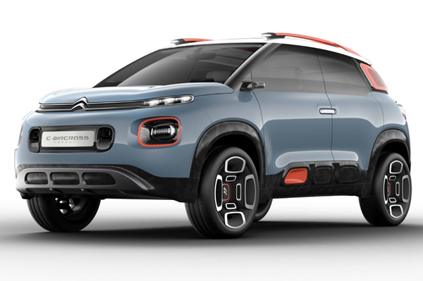 Citroën C-Aircross- Concept 2017