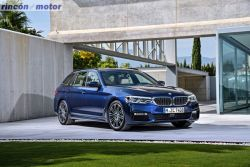 """Nuevo BMW Serie 5 Touring, después de la berlina el """"familiar"""""""