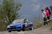 Primera Victoria de Rubén Iván Blanco en el Rallysprint Villa de Grado