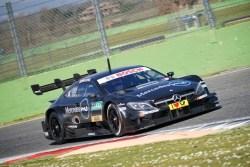 Mercedes-AMG C63 DTM test Vallelunga