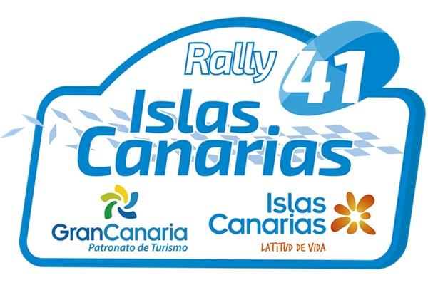 Placa Rallye Islas Canarias 2017