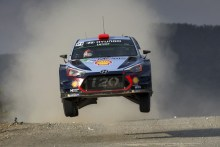 Hyundai: Vehículo oficial del YPF Rally Argentina 2017