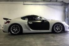 Debut de Vilariño en la GT4 Europea con el Porsche Boxster