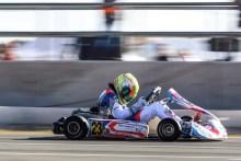 Rubén Moya representará a España en el trofeo CIK FIA Academy