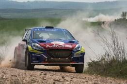 Cohete Suarez - Rally tierra Navarra 2017