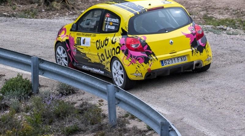 Belmonte- Fernández rallyesprint bajo aragon