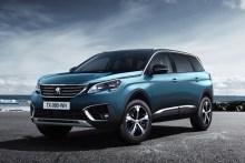 Peugeot 5008 2017, fotografías generales