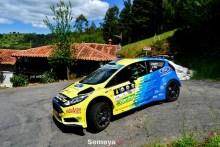 El I Rallye La Espina para Óscar Palacio
