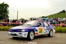 Harri Toivonen en el Rallye Solo Escort