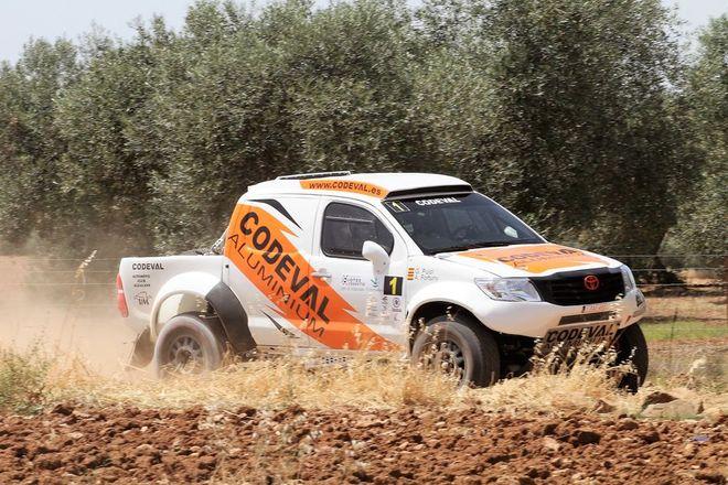 Baja Dehesa Extremadura CERTT fortuny Toyota Hilux