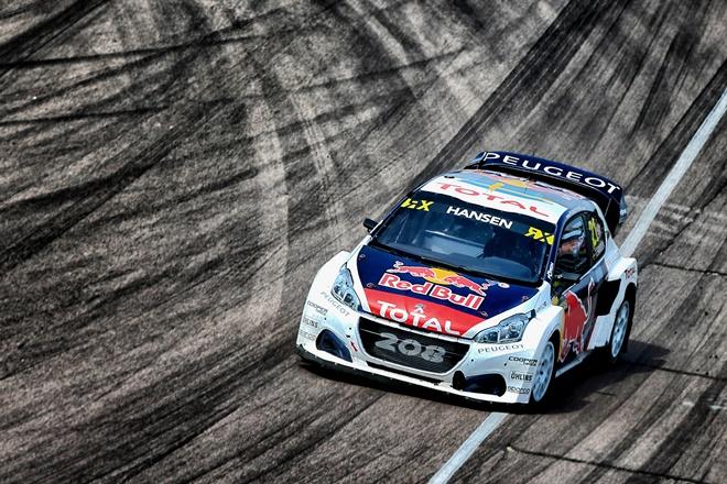 Peugeot Hansen rallycross 208 wrx