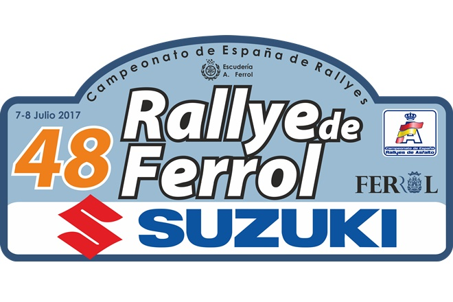 Placa 48 Rallye de Ferrol 2017