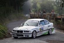 Eneko Goiriena y Alain Peña ganan el VIII Rallye Balcón de Bizkaia