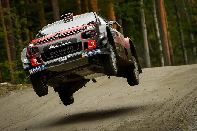 Kris Meeke Citroën C3 WRC Raly Finlandia Shakedown