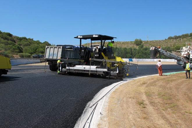 asfaltado circuito jerez