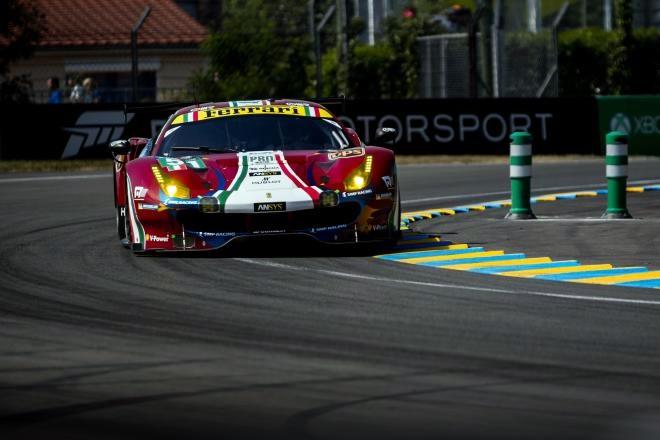 ferrari 488 GT-Pro Nurburgring wec