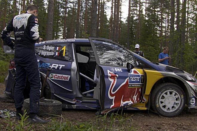 ford fiesta accidente finlandia
