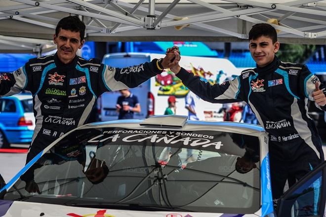 raul hernandez junior peugeot 208 rallye latvija