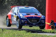 José Antonio Suárez roza el podio en la cita checa del ERC