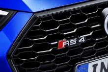 Audi RS4 Avant 2018, fotografías generales