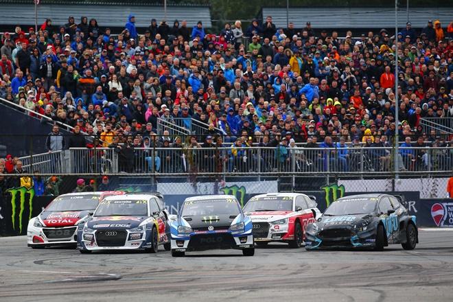 final wrx letonia rallycross