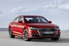 Audi A8 2017, fotografías generales