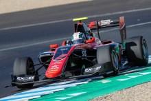 Nirei Fukuzumi logra la victoria en la primera carrera de GP3 en Jerez