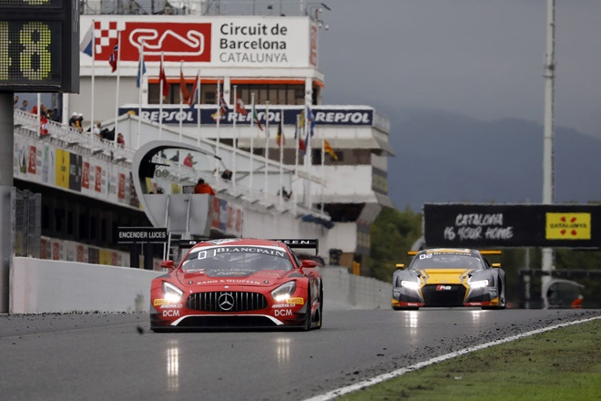 mercedes amg gt montmelo