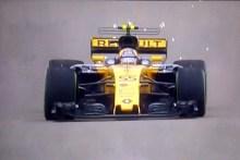 Buen debut de Carlos Sainz con Renault