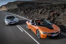 El nuevo BMW i8 2018 con dos carrocerías, coupé y roadster