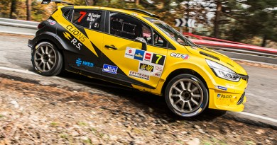 Miguel Fuster - Renault Clio N5 - Rally CAM 2017