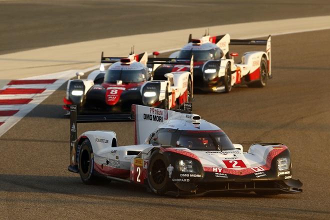 Porsche 919 Hybrid boxes wec bahrein